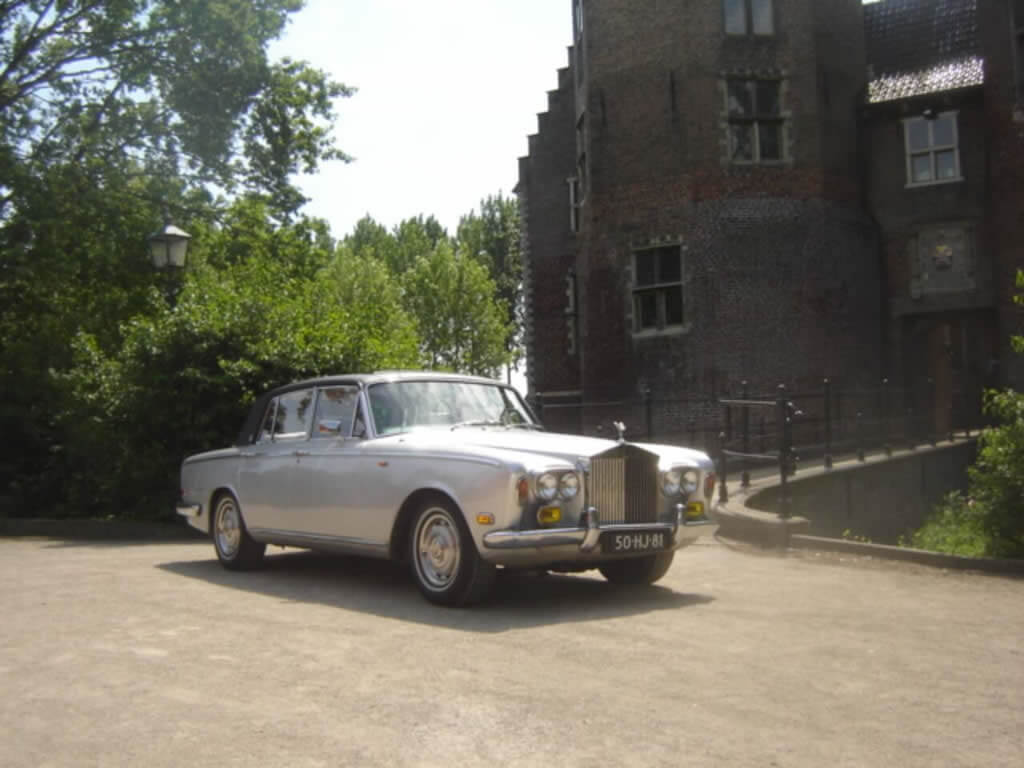 Trouwen in een Rolls Royce Silver Shadow