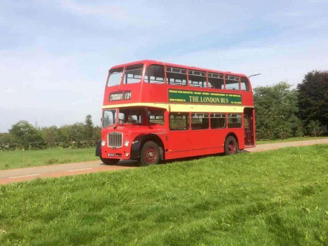 london bus oldtimer verhuur trouwvervoer p verbeek
