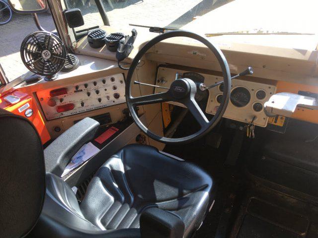 Schoolbus bestuurdersstoel stuur